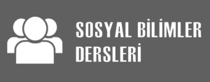 Sosyal Bilimler Dersleri
